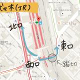 代々木駅(JR)からベビーカーで安全に外へ出る方法