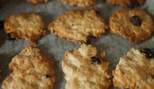 こどもと一緒にさくっとできるクッキーの作り方:乳製品、卵、砂糖不使用のマクロビ仕様