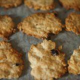 オートミールクッキーの作り方:乳製品、卵、砂糖不使用のマクロビ仕様
