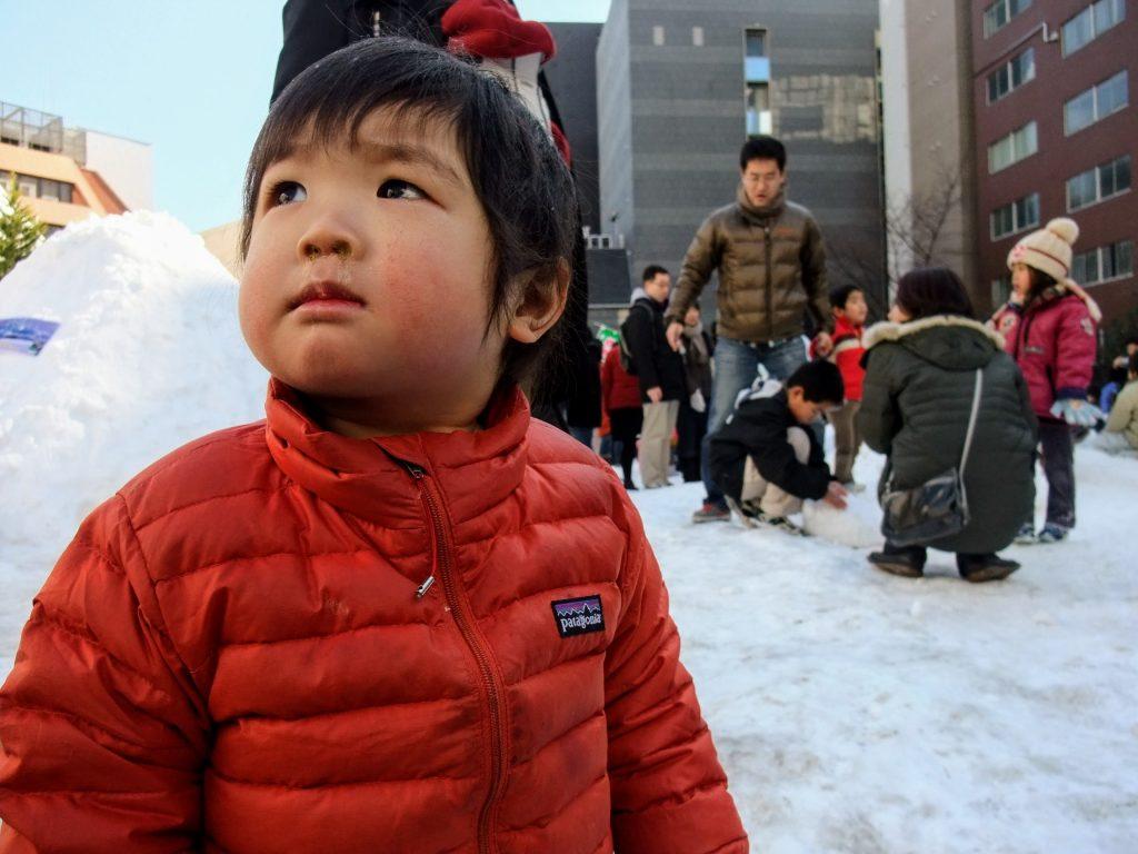 東京の雪まつり、神田小川町雪だるまフェアに子連れでいってきたよ