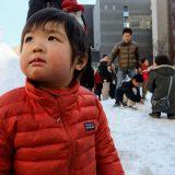 神保町で雪まつり。東京に大量の雪が嬬恋村からやってくるよ