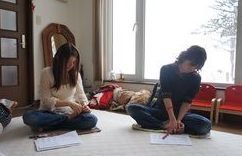 東川町の自宅教室(初の簡単足もみ講座の開催)