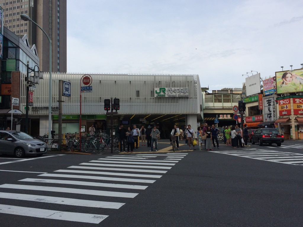 JR代々木駅西口