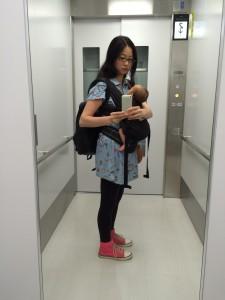 成田空港第三ターミナルへ0歳児と行ってみた