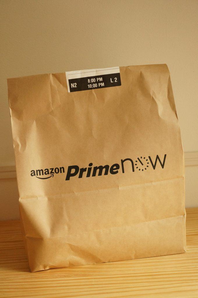amazon prime now(プライムナウ)