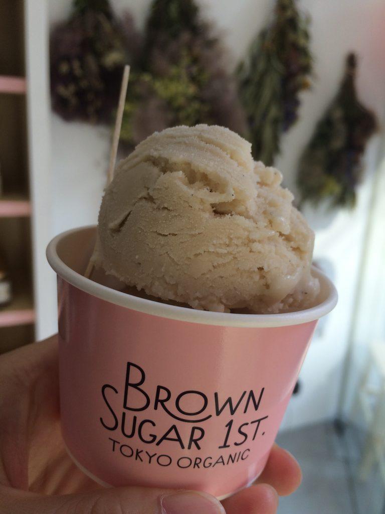 brown sugar 1st. tokyo organic(ブラウンシュガーファースト)アイス