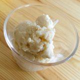 アイスクリームの作り方:乳製品、卵、砂糖不使用のマクロビ仕様