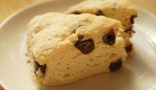 スタバ風さくふわスコーンの作り方:乳製品、卵、砂糖不使用のマクロビ仕様