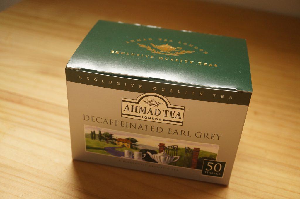 AHMAD TEA (アーマッドティー) デカフェ アールグレイ 50P-2