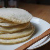 豆乳ふわふわパンケーキの作り方:乳製品、卵、砂糖不使用のマクロビ仕様