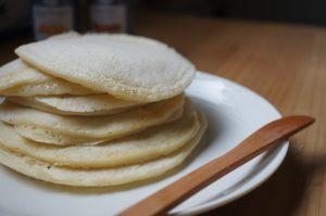 豆乳で簡単!ふわっとパンケーキの作り方