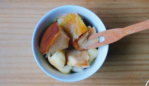 簡単りんごケーキの作り方:乳製品、卵、砂糖不使用のマクロビ仕様