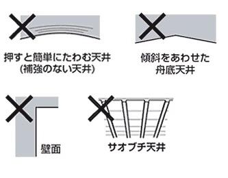 シーリングライト(天井の強度の確認)