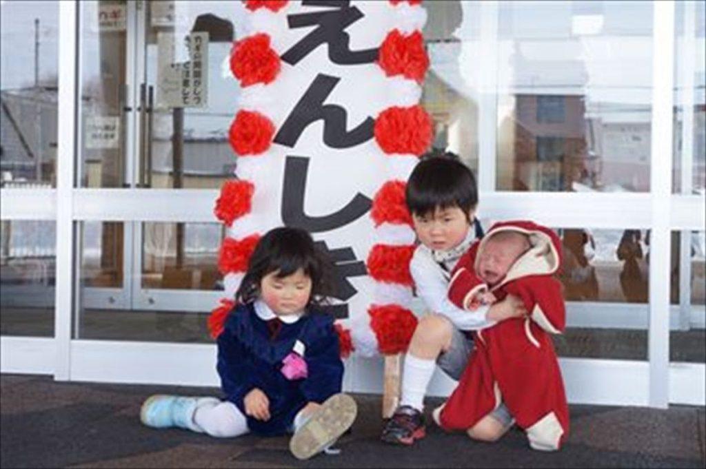 保育園入園式の服装、パパママこども0歳1才2才3才