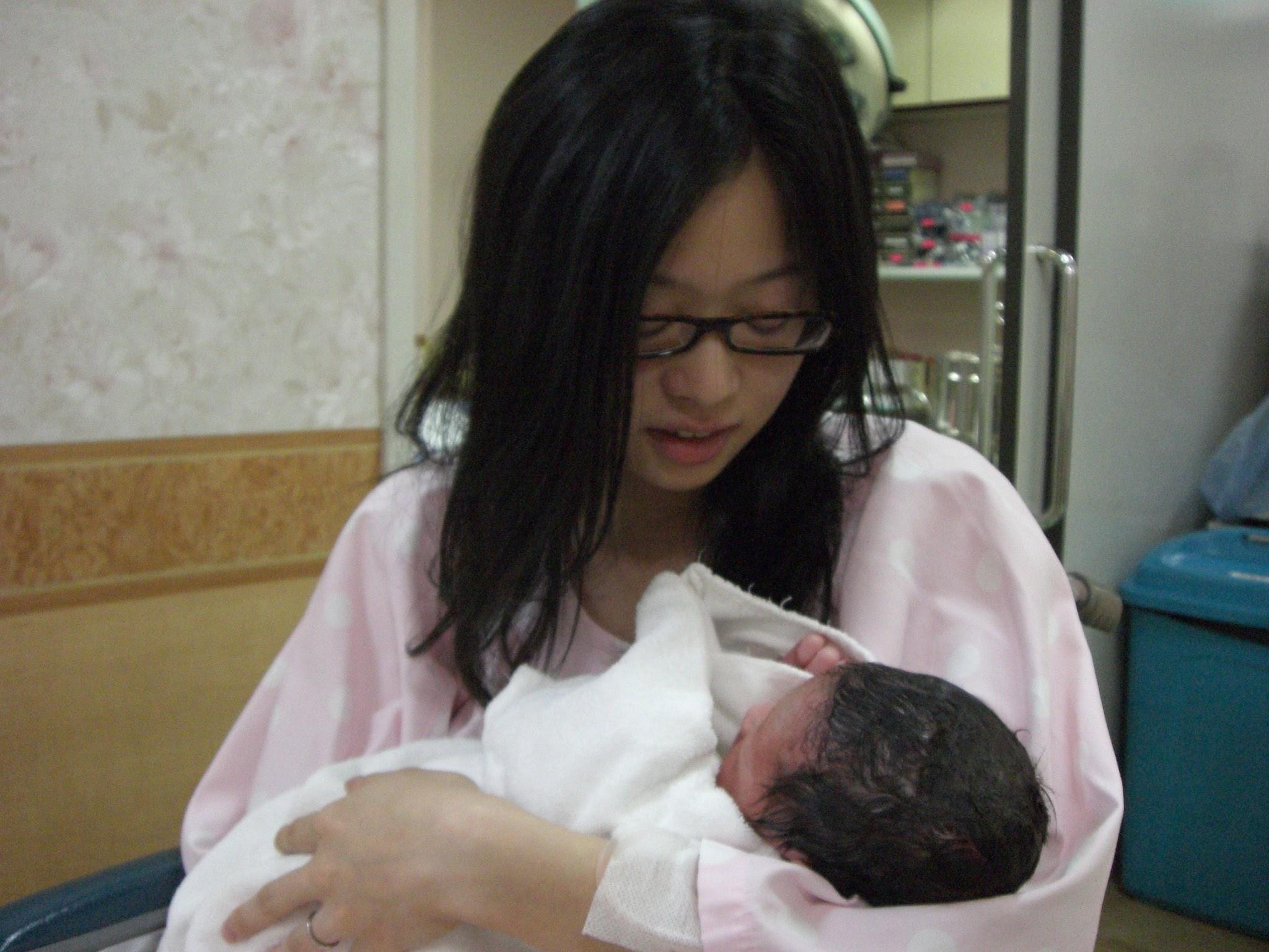 江戸川区のクリニックで1人目を出産