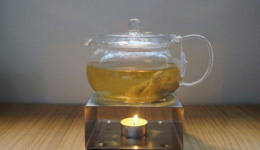 ティーポットウォーマー。キャンドルで保温して、美味しく紅茶を飲む