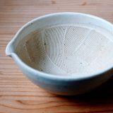 おしゃれなすり鉢とすりこぎ。離乳食にも白和えにもおすすめの大きさとは?