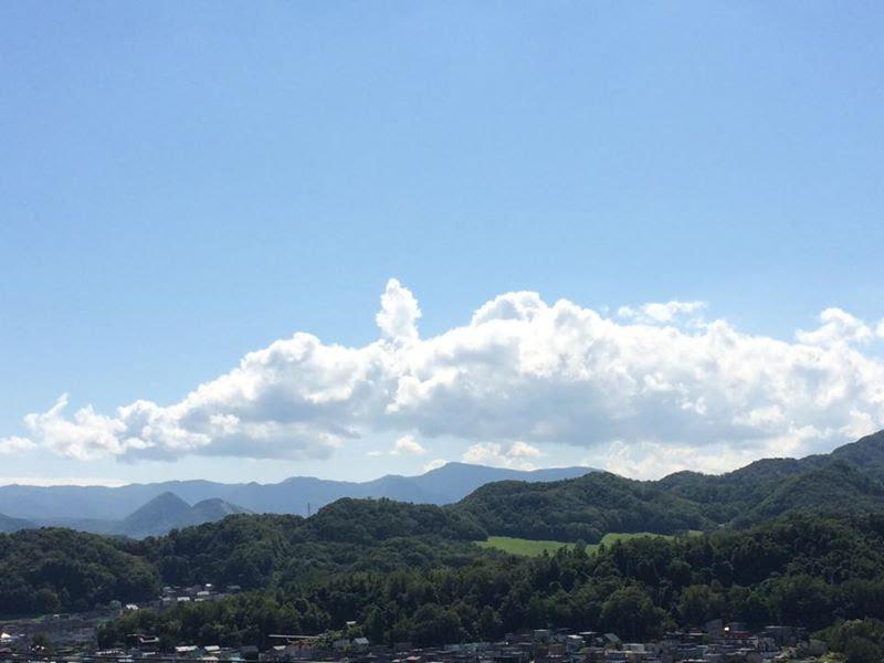 札幌の自宅からの眺め