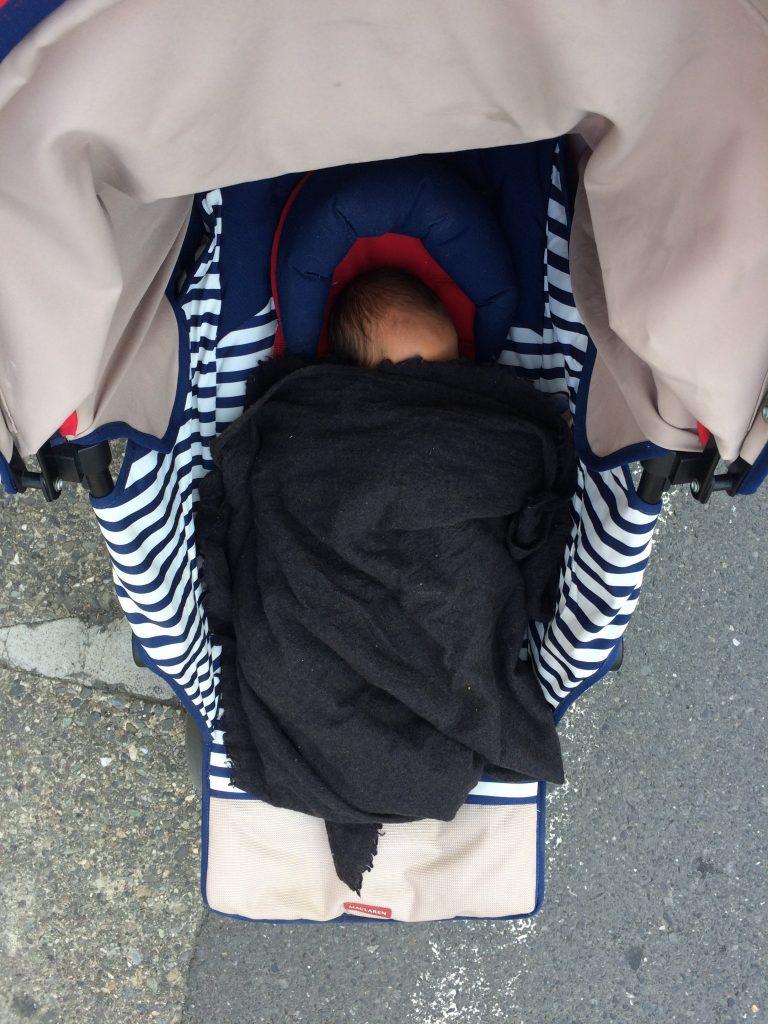 産後6日目で保育園の入園式に行ってきたよ