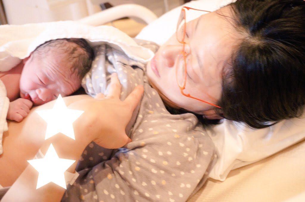 5人目の立会い出産の様子