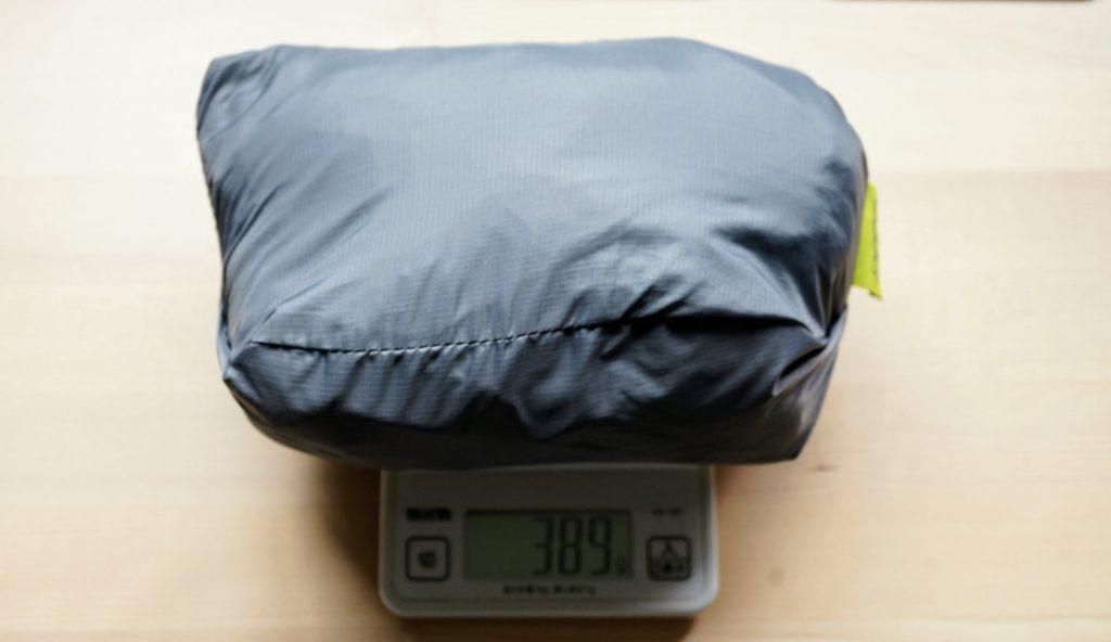 ボバエアーの重さは、本体重量390g