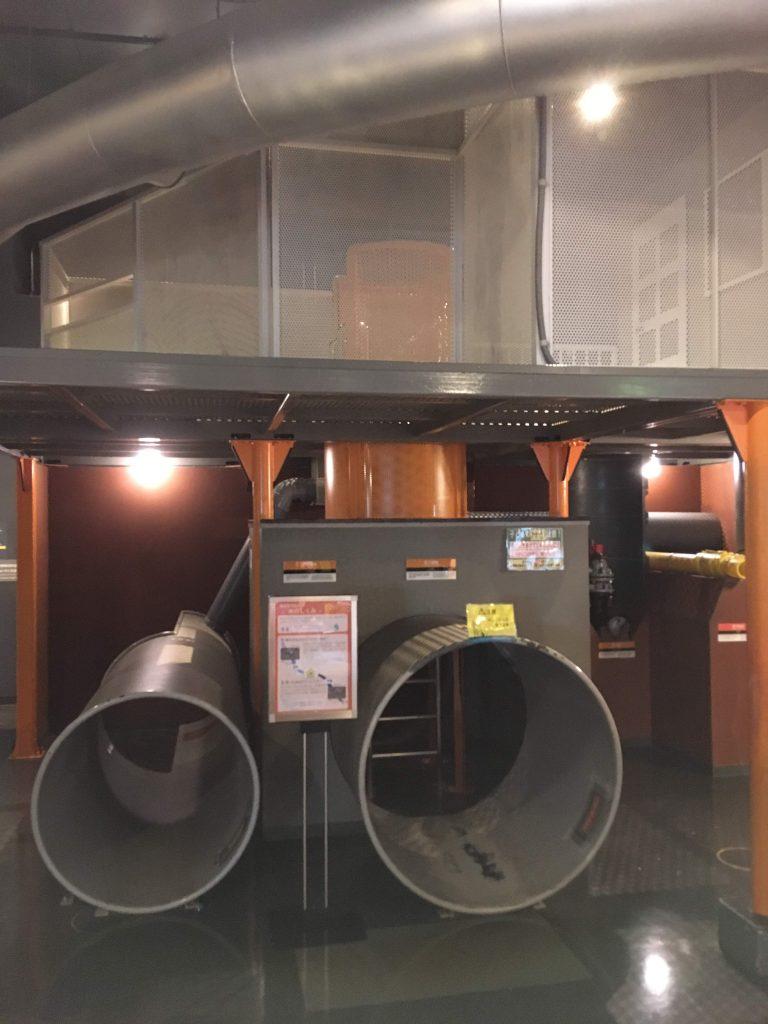 多摩六都科学館展示室3「しくみの部屋」