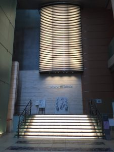 三井記念美術館のアトリウム