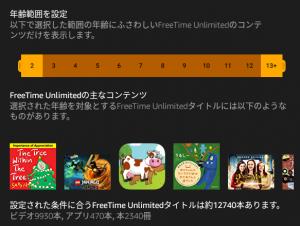 「FreeTime Unlimited(フリータイム アンリミテッド)」の2019年9月14日現在のコンテンツ数は12,740本