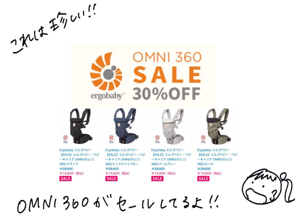 OMNI360が30%オフのセール中!